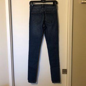 Uniqlo skinny jeans.